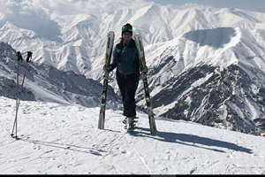 Shemshak Ski Resort in Iran